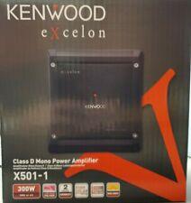 Kenwood eXcelon Mono Subwoofer Amplifier 500 Watts X501-1 Car Amp X5011