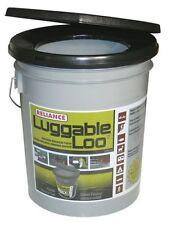 Reliance Luggable Loo Portable 5 Gallon Toilet Potty Bathroom Camping Bucket NEW