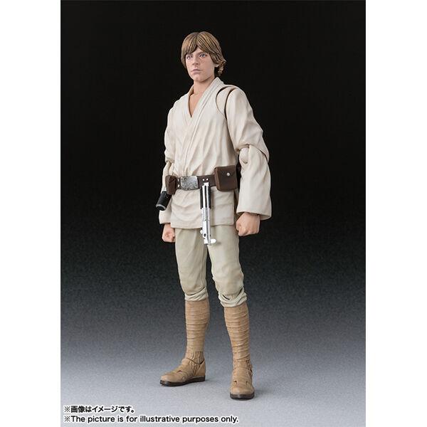Bandai S.H.Figuarts Star Wars A New Hope Luke Skywalker Japan version