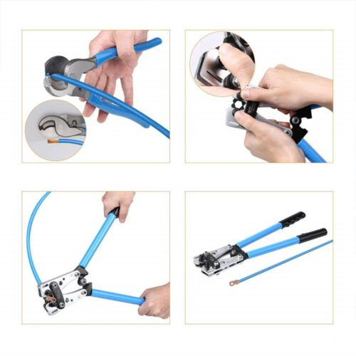 Cable Wire Crimper Pliers Crimping Tool Set Electrical Terminal Cutter Quality