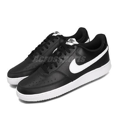 nike court vision low black white mens casual shoes retro