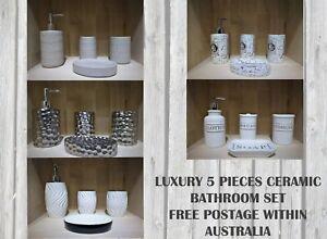 4 Pieces Luxury Ceramic Bathroom