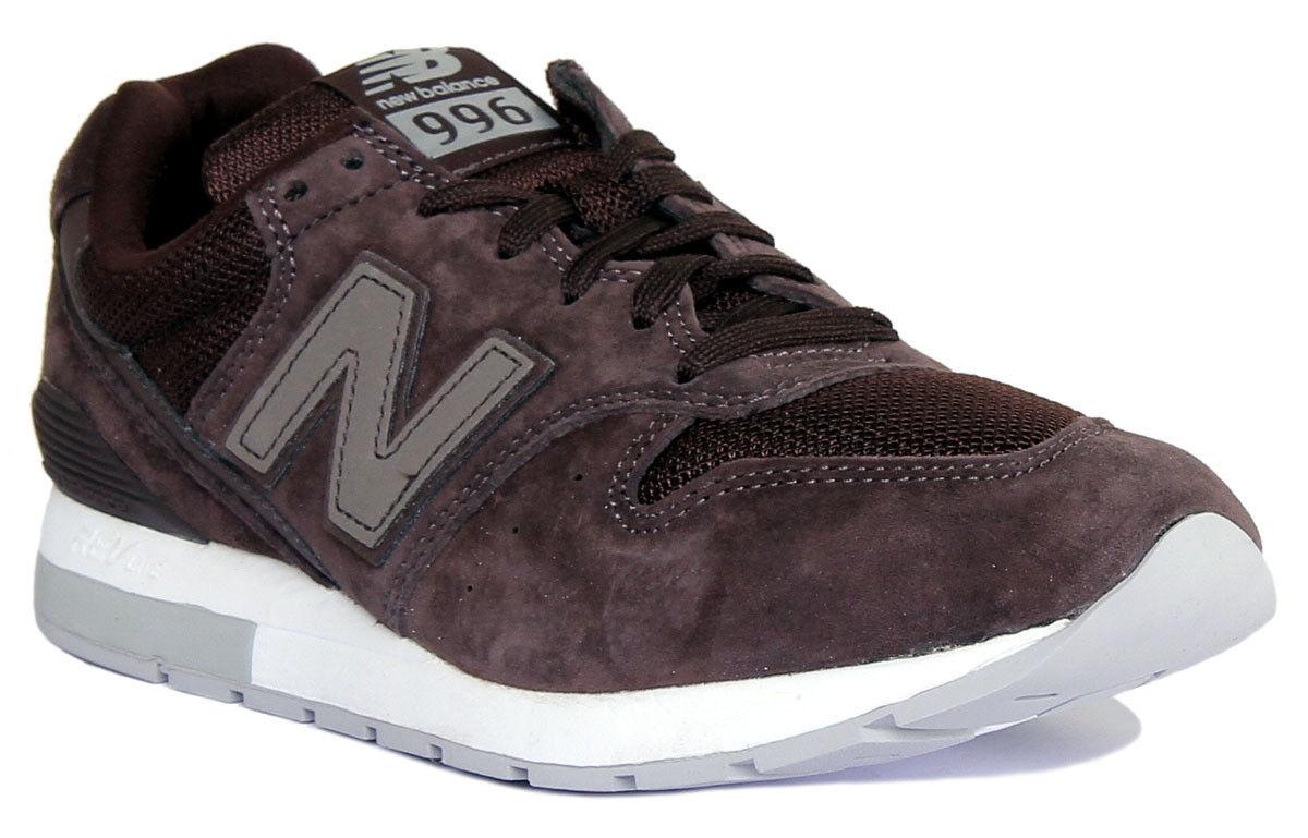 New Balance Mrl996 Damen Braun Sneaker Wildleder Turnschuhe Sneaker