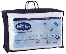 NEW Premium Silentnight Egyptian Cotton Duvet - 10.5 Tog - Single Bed Quilt
