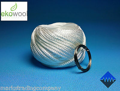 3mm, 2mm, 1mm Genuine Ekowool Silica Wick Braided Hollow FREE BONUS KANTHAL WIRE