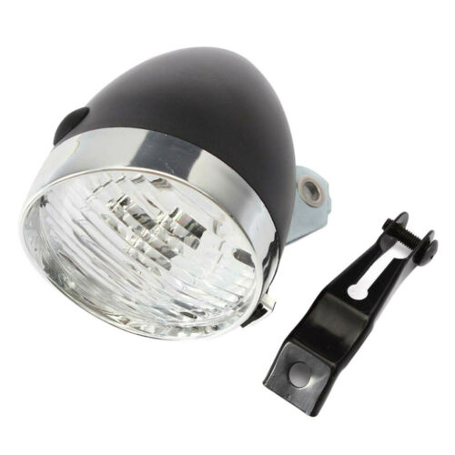 Classic LED Vintage Bike Headlight Bicycle Retro Head Light Front Fog Lamp