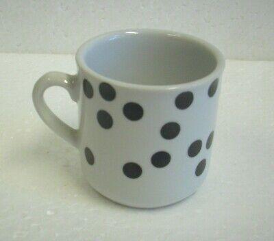 Espresso Tasse Sammlertasse Sandea Rich schwarze Punkte | eBay