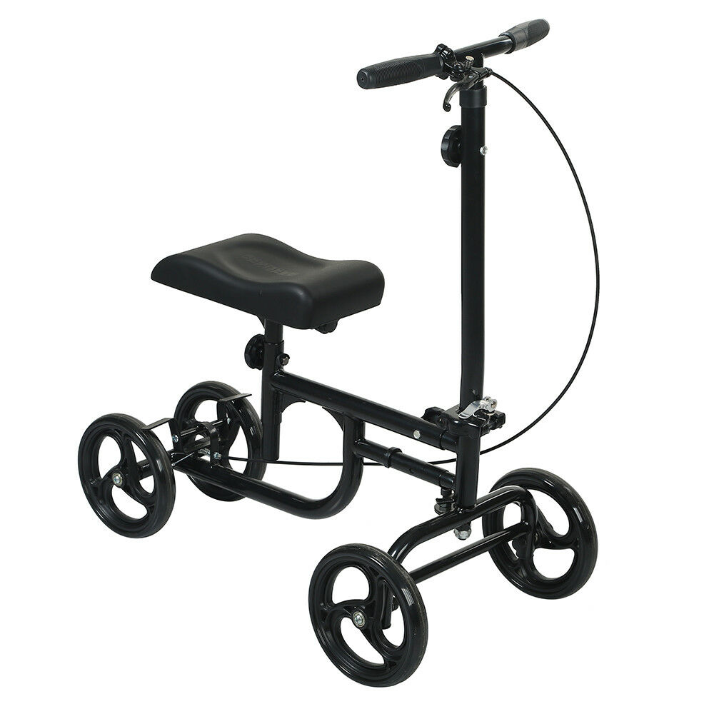 NEW All-Road Knee Walker Steerable Madical Scooter Crutch Al
