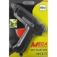 Mega Professional Hot Glue Gun 60 W + 2 Pcs Small Free