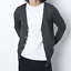 Mens-Cardigan-Cotton-Blend-Knitted-Sweater-Formal-Casual-V-Neck-Single-Breasted thumbnail 1