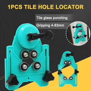 Drill Bit Tile Glass Hole Locator Saw Core Bit Guide Opening for Woodworking