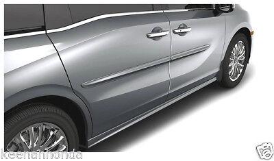 Genuine OEM Honda 2018 Odyssey Painted Body Side Molding Kit BSM