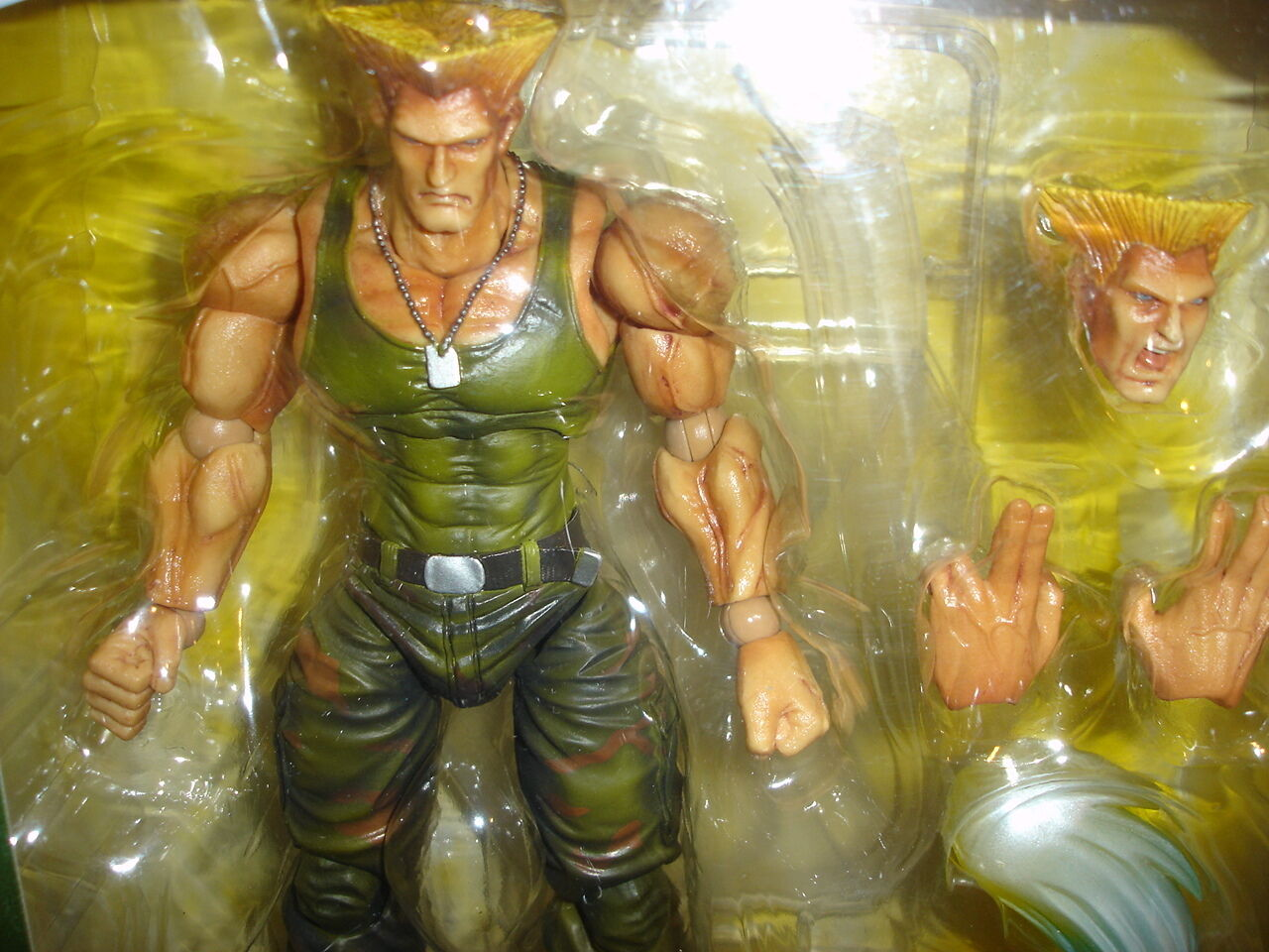 Guile - Street Fighter - Figure - Kai  - Genuine Kai  - New & Sealed