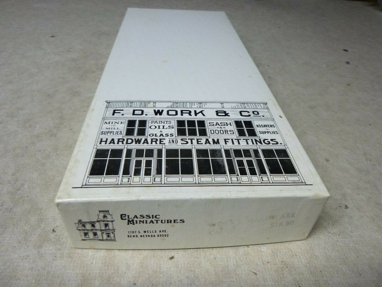 HO CRAFT BUILDING KIT -  FD WORKS & CO. - CLASSIC MINIATURES