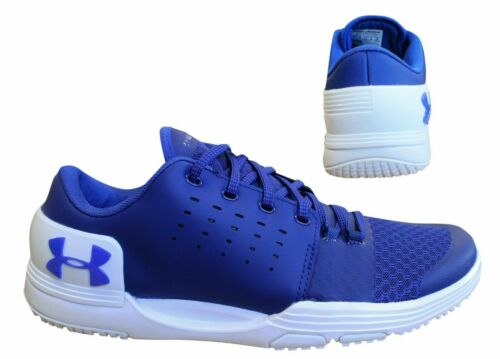 Under Armour Limitless Blue Lace Up Mens Trainers Running Shoes 3000331 500 B88A