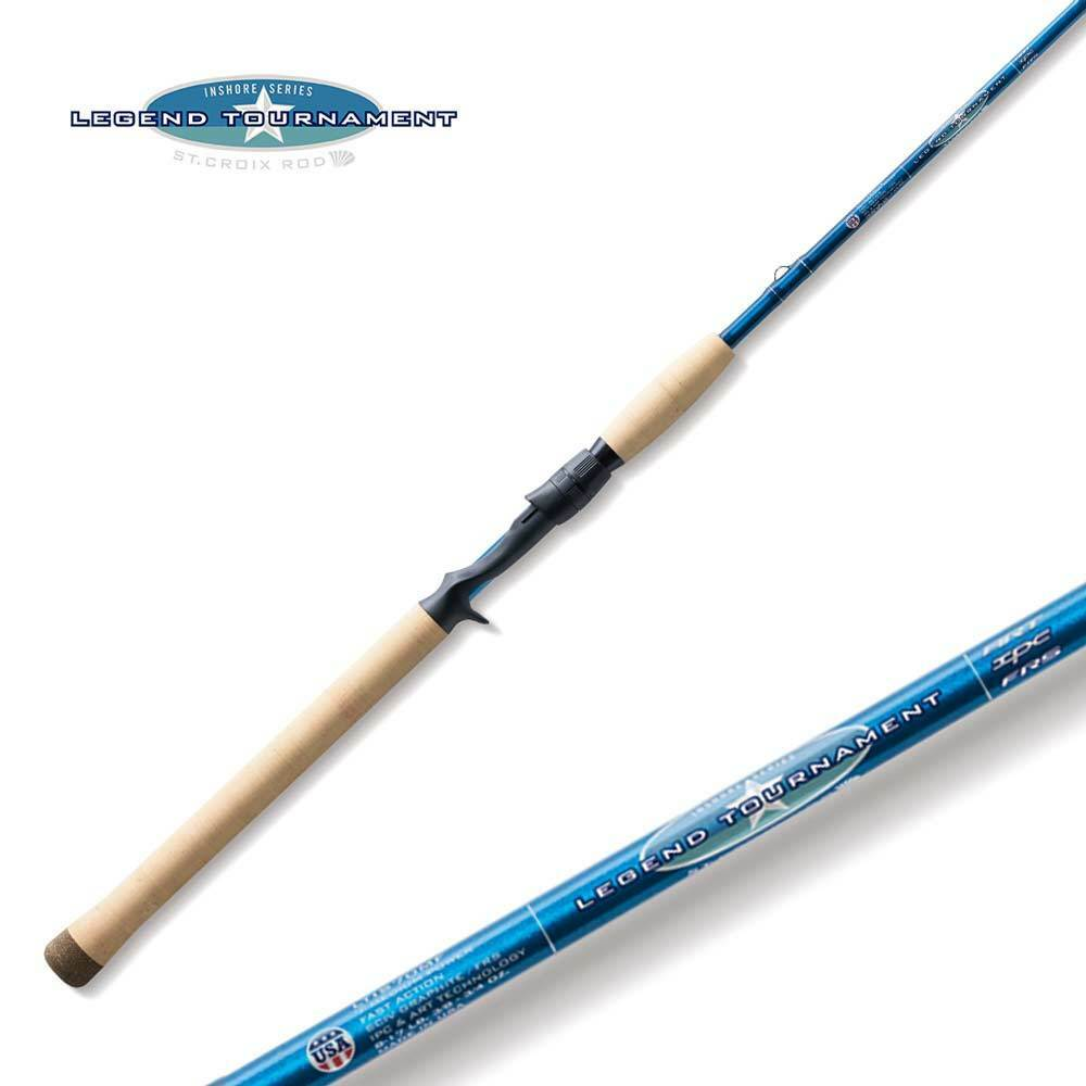 St Croix Legend Tournament Inshore Casting Rod LTIC76MHF 7'6