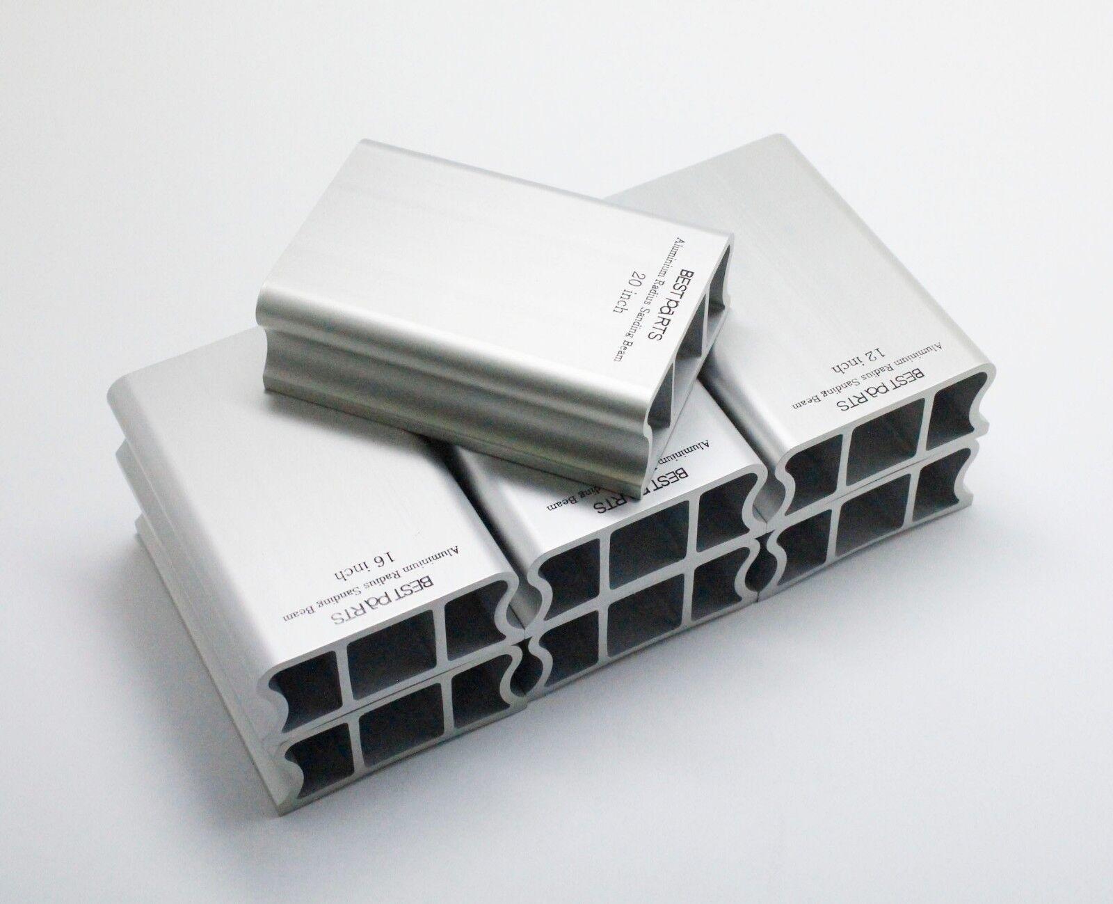 BestpartsAluminium 100mm Radius block SET include 7 different luthier tool
