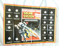 #D35. 1984  EXPLORING OUR SOLAR SYSTEM  SANITARIUM WEETBIX  CARD POSTER