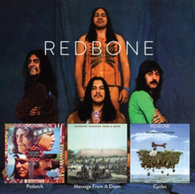 REDBONE - Message From A Drum/Cycles/Already Here CD *NEW & SEALED*