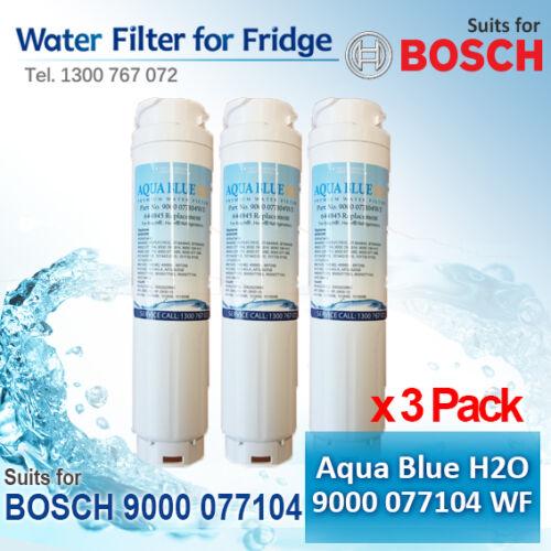 3 x 9000 077 104  Bosch  filter  alternative  model  for  KFN91PJ10A//01 filter