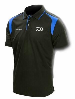 DAIWA Fishing Shirt Jersey Tournament New Black Red Avail