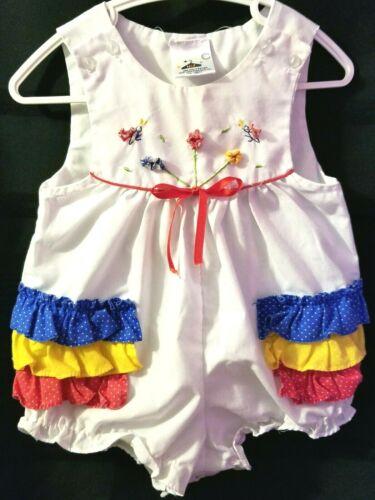 boho two pockets size 6X Romper pants bird Kaya Kids casual Vintage Blue Yellow Sleeveless Cotton Girl/'s Jumpsuit summer jumpsuit