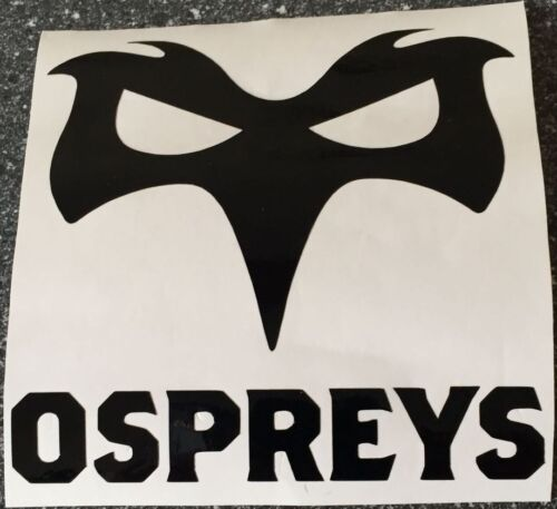 taille 125 mm x 121 mm Ospreys Decal//Autocollant X 2..
