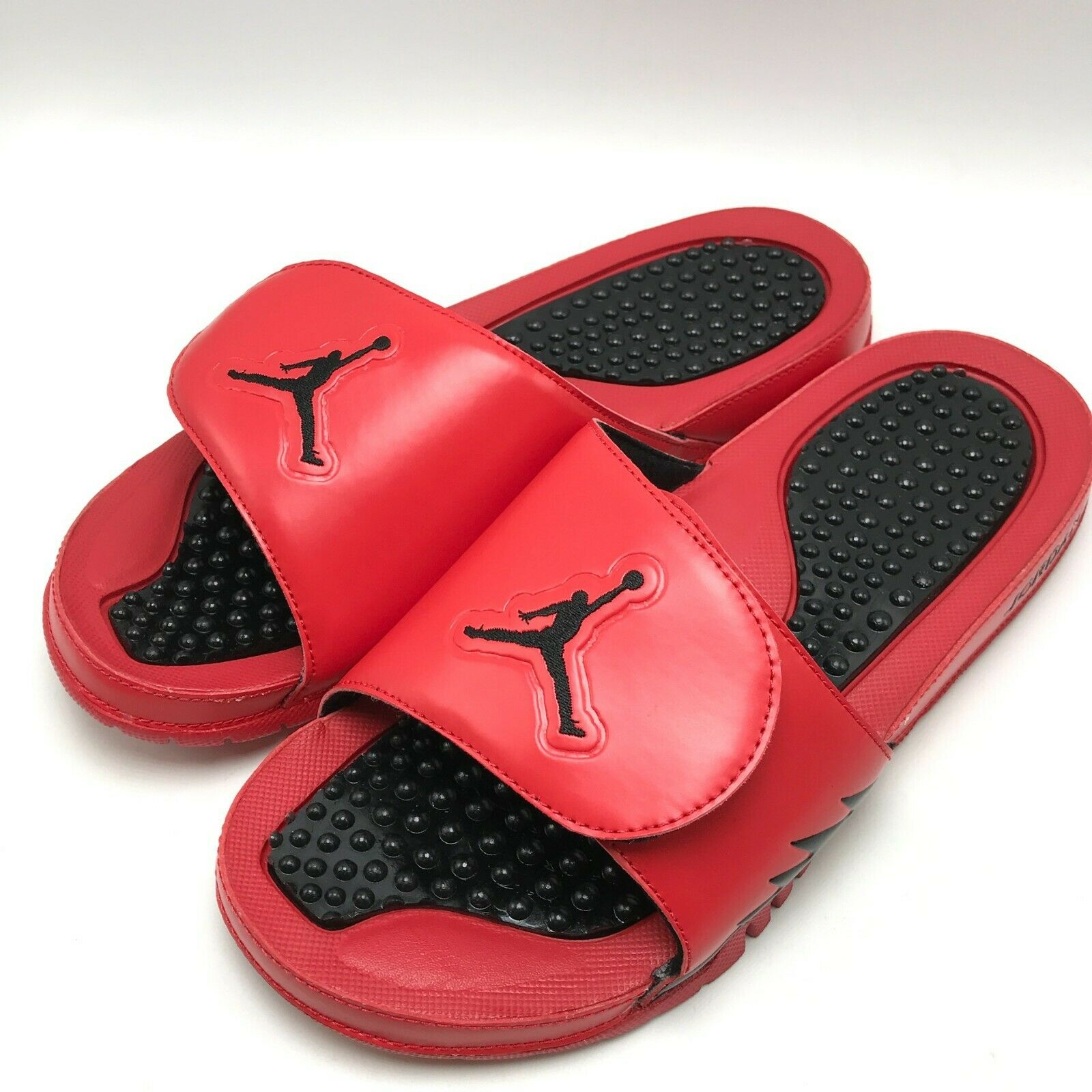 7724764fffd Nike Jordan Hydro V Retro Sandal University University University Red Black- Black 555501-601