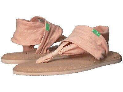 Women S Shoes Sanuk Yoga Sling 2 Metallic Lx Knit Sandals 1103944 Spanish Villa Ebay