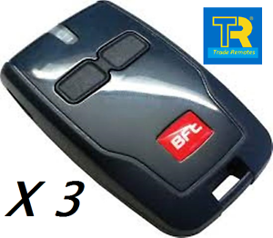 3-X-AUTHENTIC-BFT-MITTO-B2-REMOTE-ORIGINAL-FOBS-TRADE-PACK