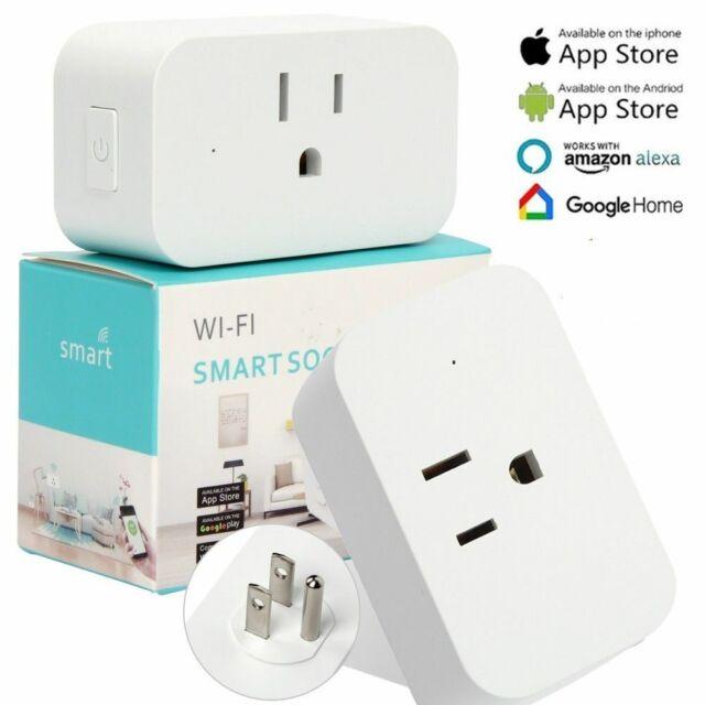 WiFi Smart Plug Works with Amazon Alexa. BUY 2,3,4,...Discounted-NEW