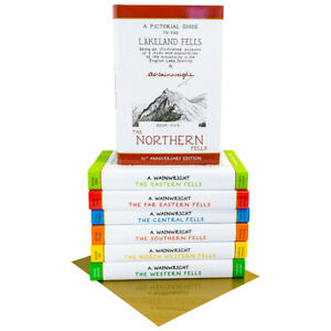 Pictorial-Guide-To-Lakeland-Fells-Collection-7-Books-Box-Set-50th-Anniversary