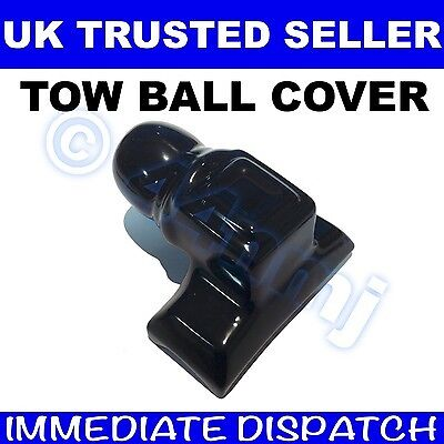 Towing Hitch Cap towball RUBBER TOW BALL COVER for Bolt on type Black