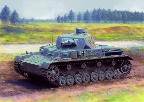 Dragon 6816 1 35 Pz.Kpfw.IV Ausf.A Up-Armored
