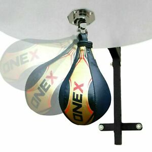 Boxing-Leather-Speed-Balls-Punch-Bag-MMA-Training-Set-Single-End-Speed-balls