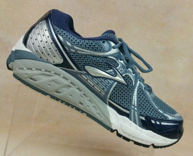 designer fashion 72bb6 bc9fc Brooks Addiction Blue Silver Running Training Shoes Men's 10 WIDE (2E) /  EUR 44