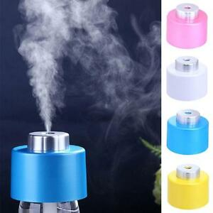 new portable usb mini water bottle caps humidifier air diffuser aroma mist maker ebay. Black Bedroom Furniture Sets. Home Design Ideas