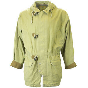 Urban-Equipment-Vintage-Men-039-s-Green-Stone-Wash-Toggle-Jacket-Sz-1XB-79-NEW