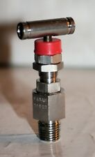 14 Mnpt 316ss Pressure Relief Bleed Valve 0 3000 Psi Panam Engineering