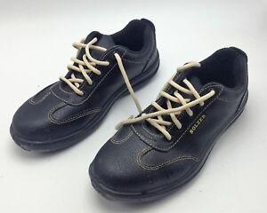 Détails sur Chaussures de sécurité femme cuir BOLZER 38 ISO 203452011 S1P  occasion