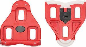 cc4309e9b56 Look Delta Cycling Cleats Red 9 Degree Float 9d for sale online