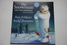 ANDY BURROWS + ILAN ESHKERI - THE SNOWMAN OST HAND SIGNED LP RECORD  AUTOGRAPHED