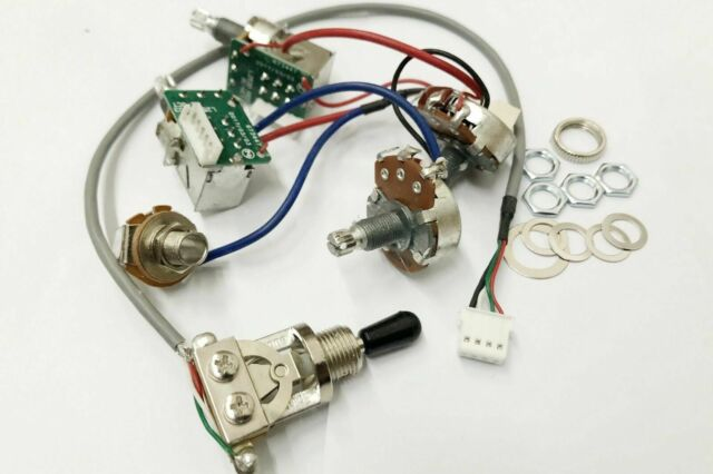 Pro Wiring Harness Pots   W 3 Way Switches With Push Pull