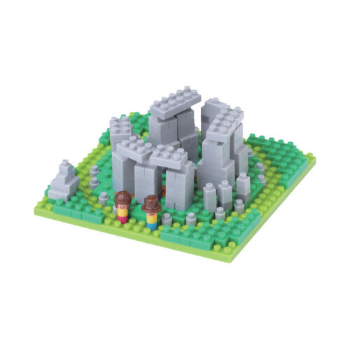 NEW NANOBLOCK Stonehenge Nano Block MicroSized Building NanoBlocks NBH117