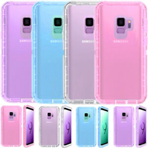 new style 5f6e7 28e26 Details about For Samsung Galaxy S9+ Plus Transparent Clear Case (Clip Fits  Otterbox Defender)