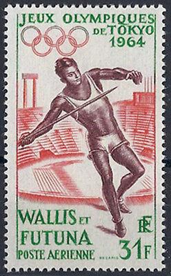 """1964 """"wallis Und Futuna"""" Olympische Spiele Tokio Minr. 205 ** Kat 24€"""
