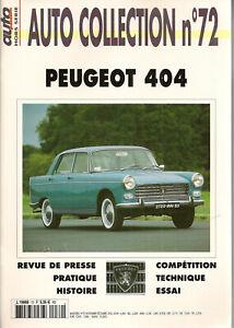 Auto Collection 72 Peugeot 404 Les Commandes Sont Les Bienvenues.