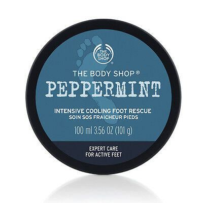 The Body Shop Intensive Foot Moisturizer Cooling Peppermint