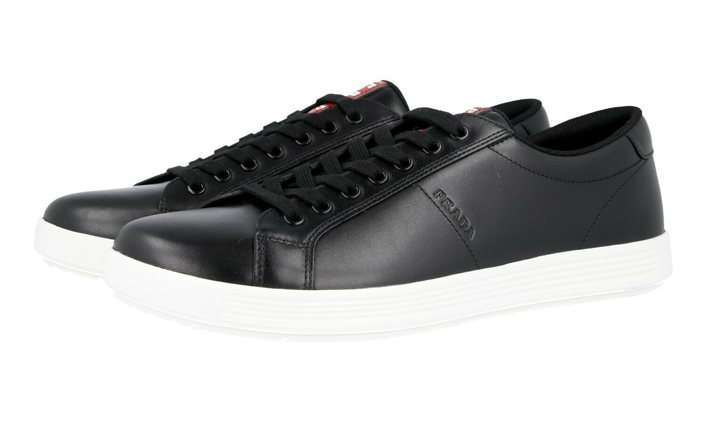 shoes PRADA LUSSO 4E3256 black BIANCO NUOVE 12 46 46,5
