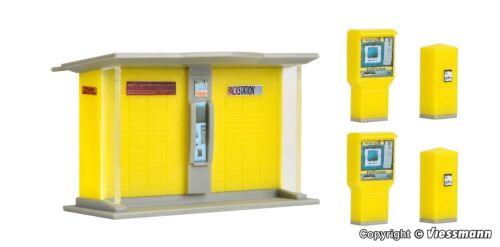 VOLLMER h0 43777-stazione pacchi DHL con cassette della posta KIT PRODOTTO NUOVO